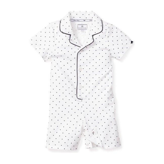 Infant Summer Romper, Pin Dots