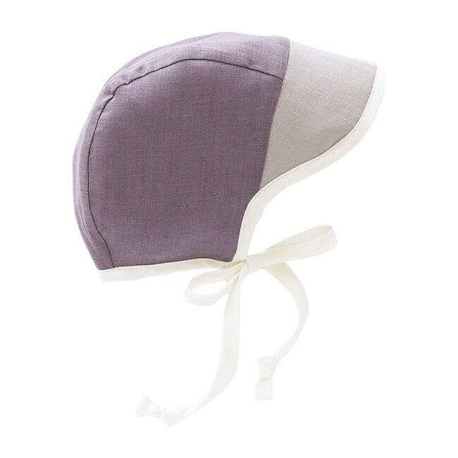 Brimmed Boysenberry Bonnet