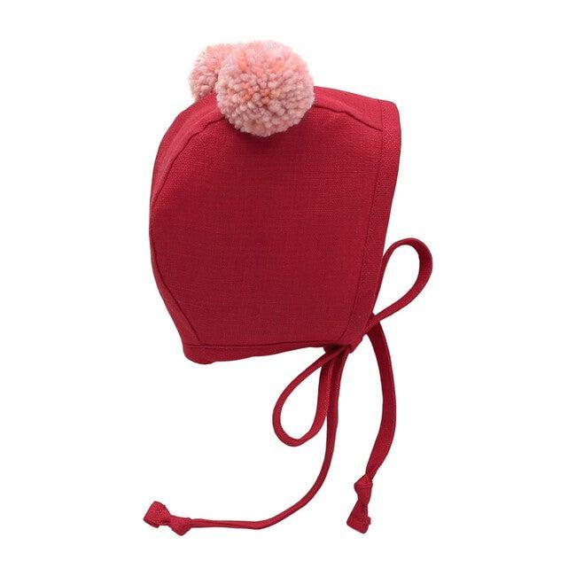 Valentine Double Pom Bonnet
