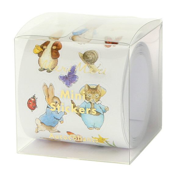 Peter Rabbit & Friends Sticker Roll