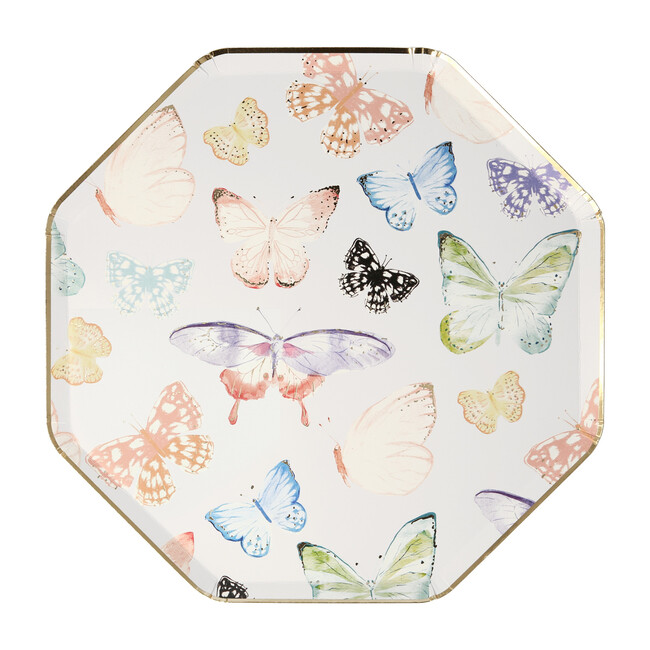 Butterfly Dinner Plates