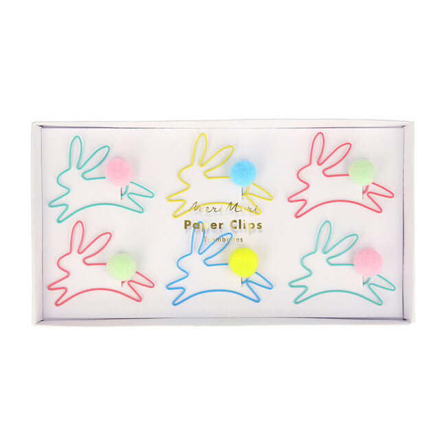 Bunny Shaped Paper Clips - Paper Goods - 1