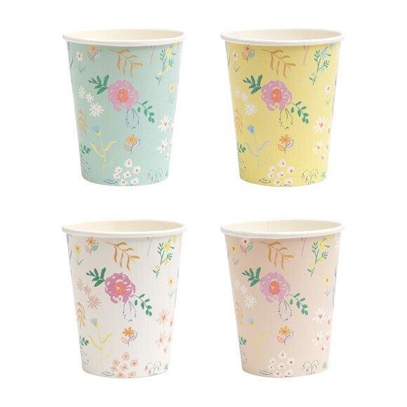 Wildflower Pastel Cups