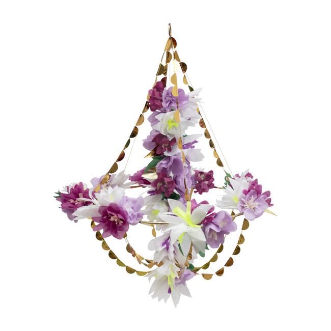 Lilac Blossom Chandelier - Decorations - 1
