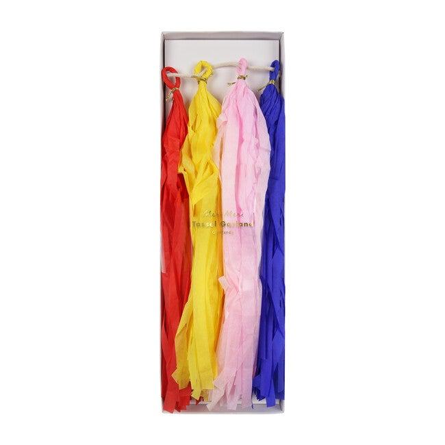 Multicolor Tassel Garland