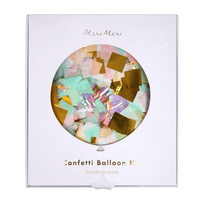 Iridescent Confetti Balloon Kit