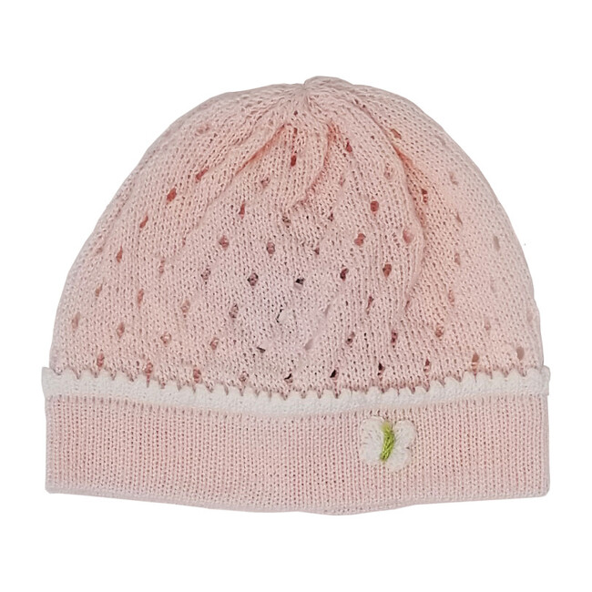 Pink Butterfly Hat