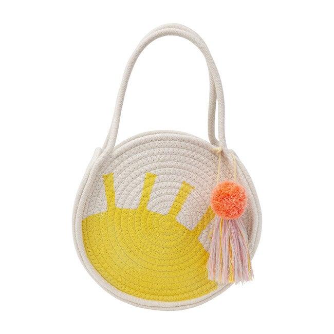 Sun Woven Cotton Rope Bag