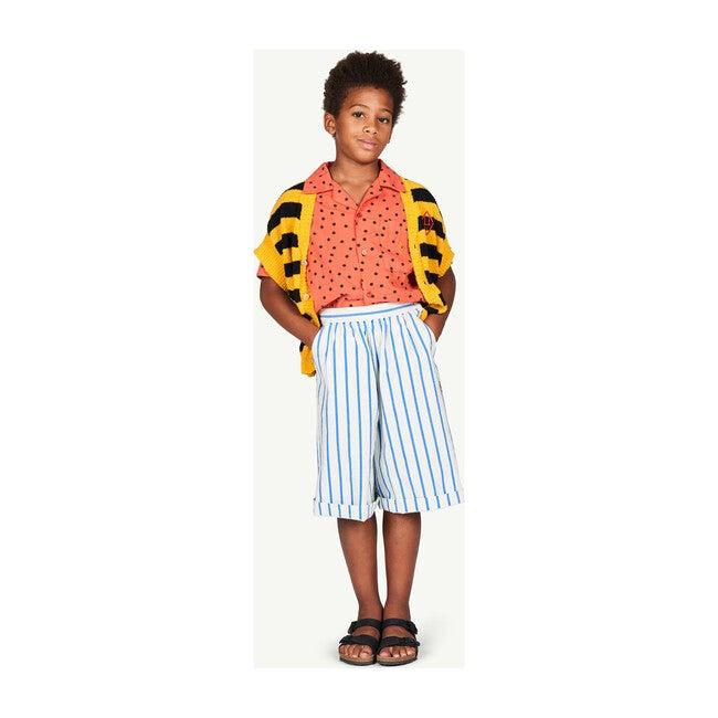 Buffalo Shorts, White Stripes
