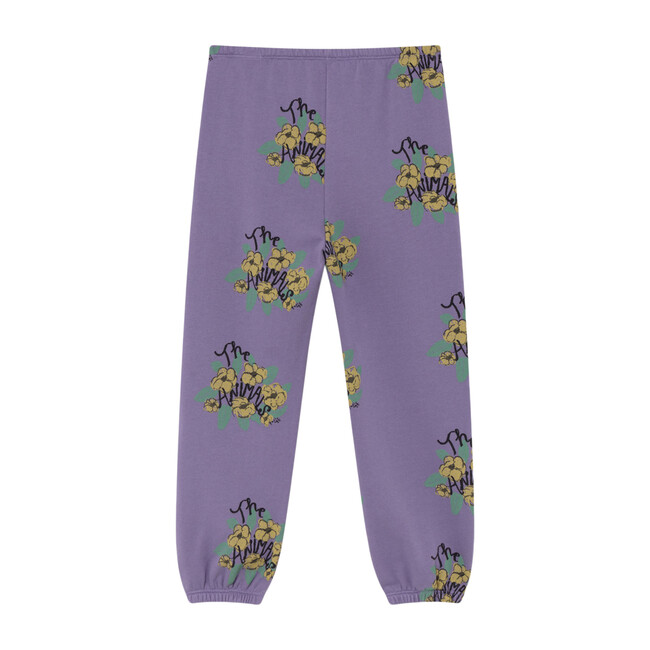 Dromedary Trousers, Purple Flowers