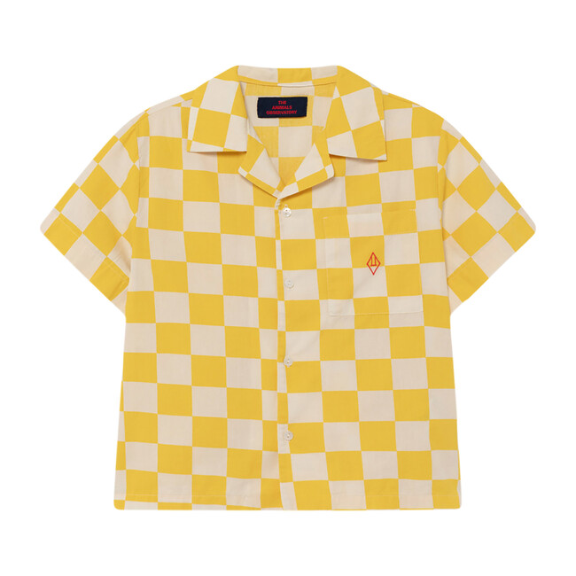 Kangaroo Blouse, Yellow Check