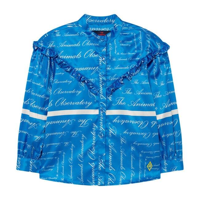 Silky Cuckoo Blouse, Blue