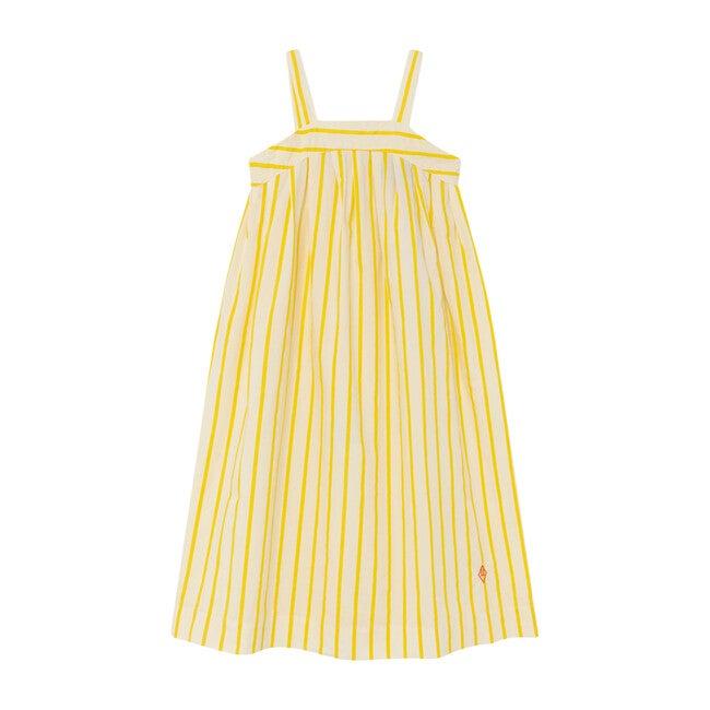 Giraffe Dress, White Stripes - Dresses - 1