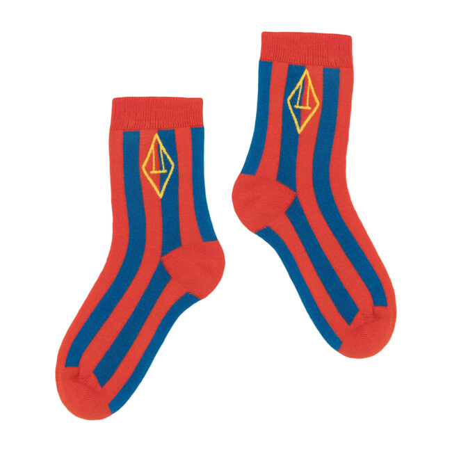 Skunk Socks, Red Logo