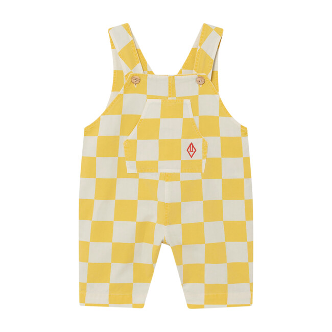 Mammoth Baby Jumpsuit, Yellow Squares