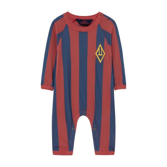 Owl Baby Pajamas, Red Stripes