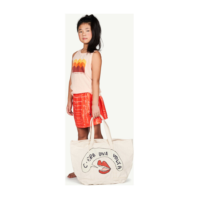 Tote Bag, White Mouth