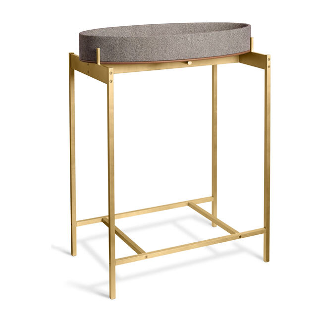 Changing Pad Stand, Brass