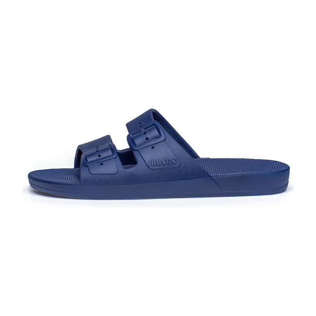Moses Two Band Slide, Navy