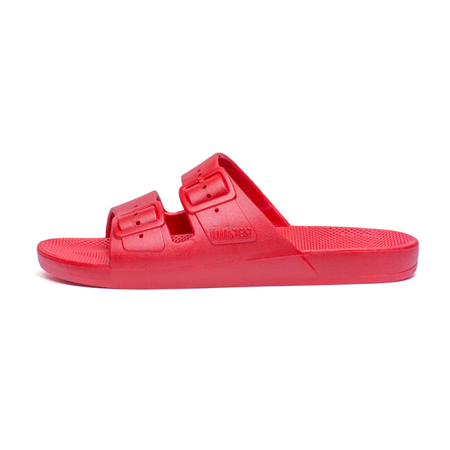 Moses Two Band Slide, Red