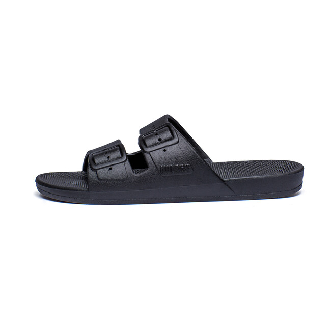 Moses Two Band Slide, Black