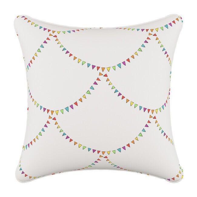 Pillow, Bunting Scallop Multi
