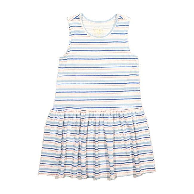 Cami Dress, Blue - Dresses - 1