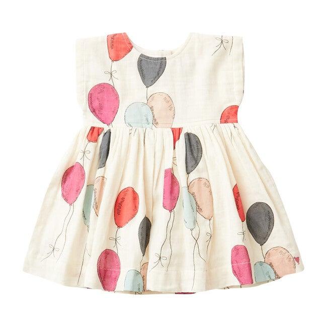 Baby Adaline Dress, Multi Balloons