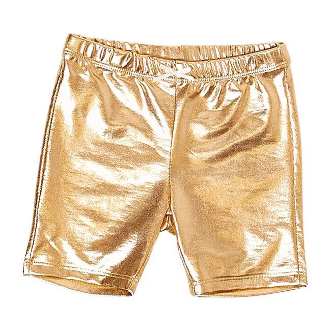 Bike Short, Gold