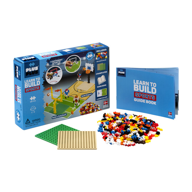 Learn to Build, Sports - STEM Toys - 1