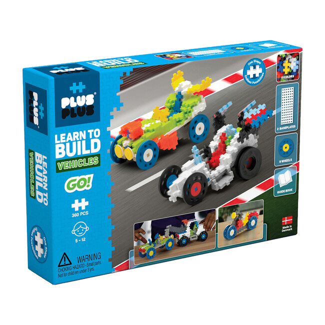 Learn to Build, Vehicles - STEM Toys - 1