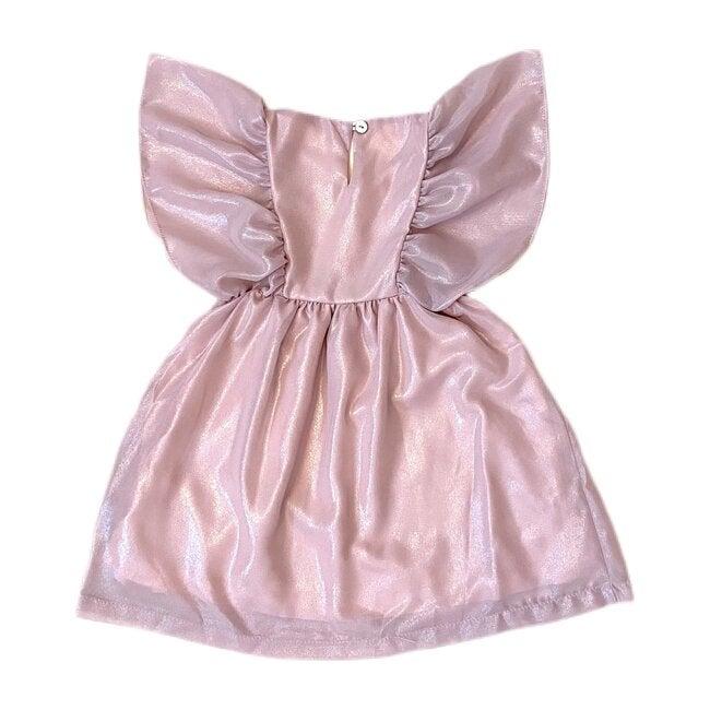 Renee Dress, Pink Silver