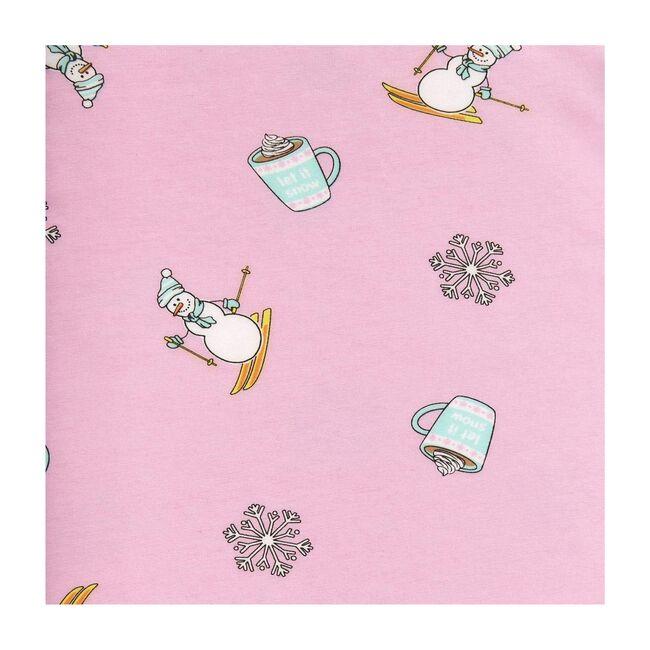 Winter Wonderland Pajamas, Pink Winter