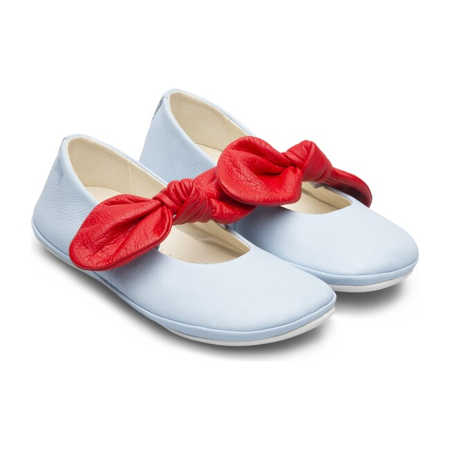 Right Kids Mary Janes, Blue & Red