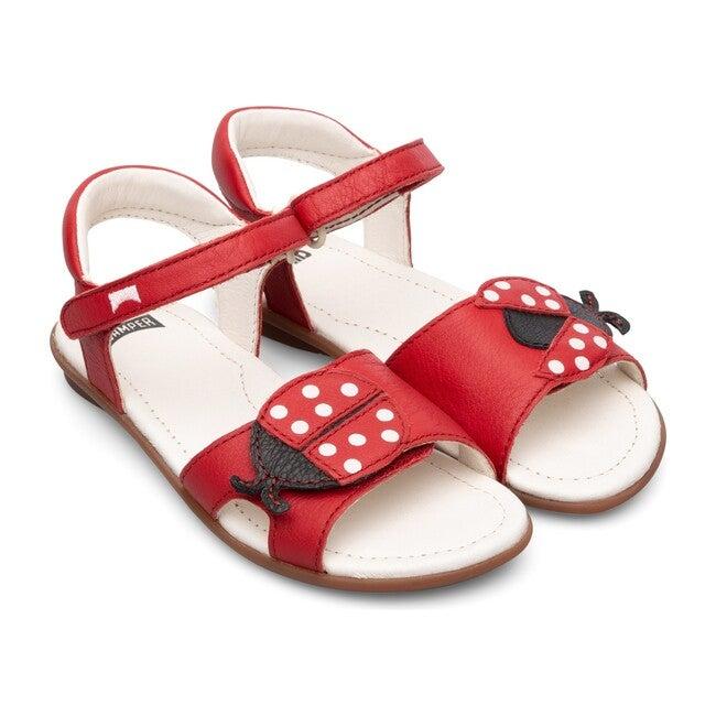 TWS Kids Sandals, Red