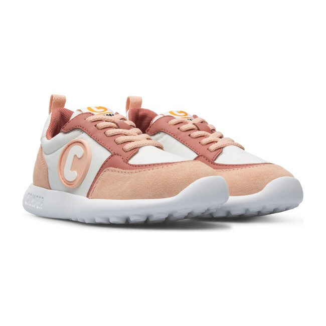 Driftie Kids Sneakers, Pink Multicolor