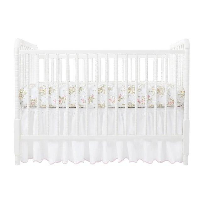 Crib Sheet, Truvy Pink