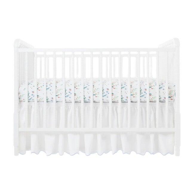 Crib Sheet, Wimberly Blue