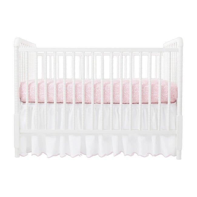Crib Sheet, Shelby Pink