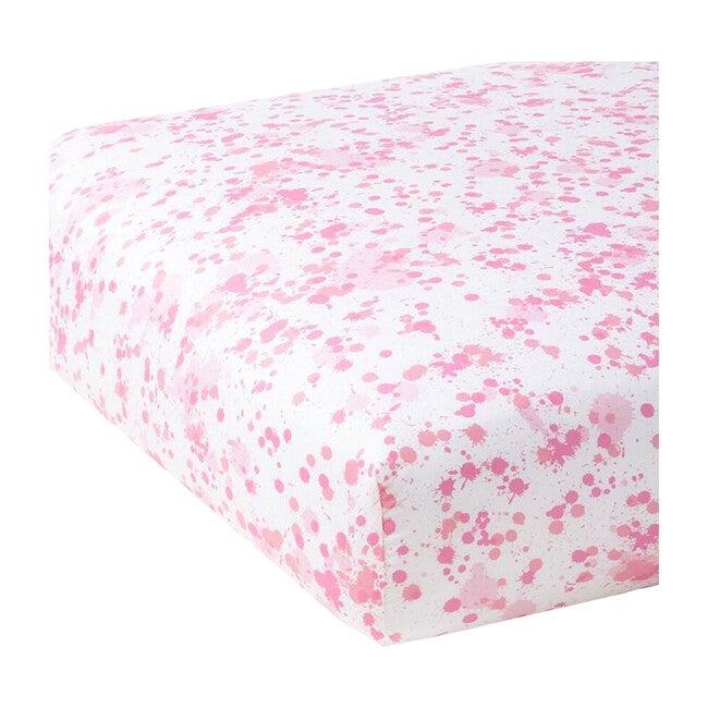 Crib Sheet, Austin Pink