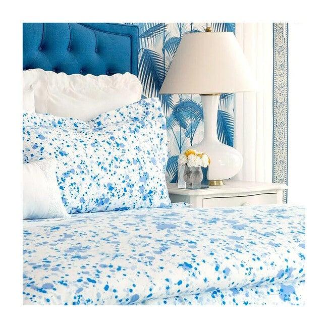 Crib Sheet, Austin Blue
