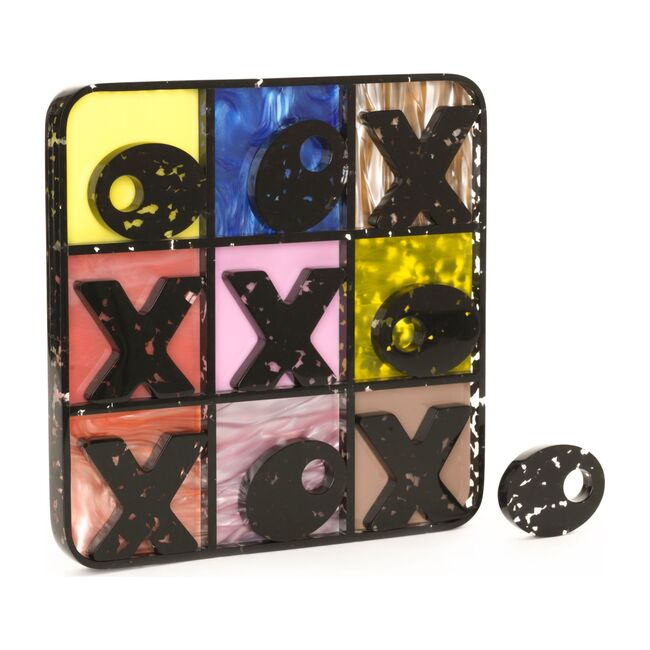 Tic Tac Toe Acrylic Game Set, Mom's Quilt