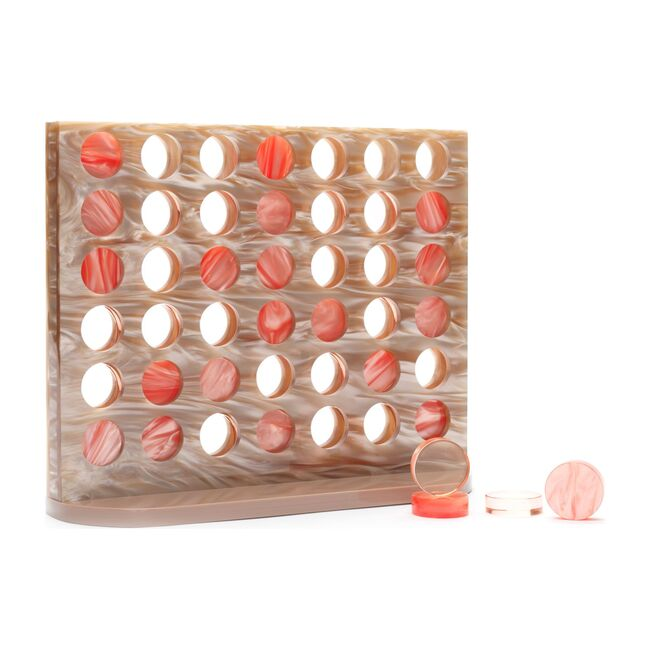 4-in-a-Row Acrylic Game Set, New Baroque