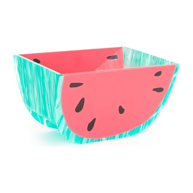 Semi-Circle Acrylic Bowl, Watermelon