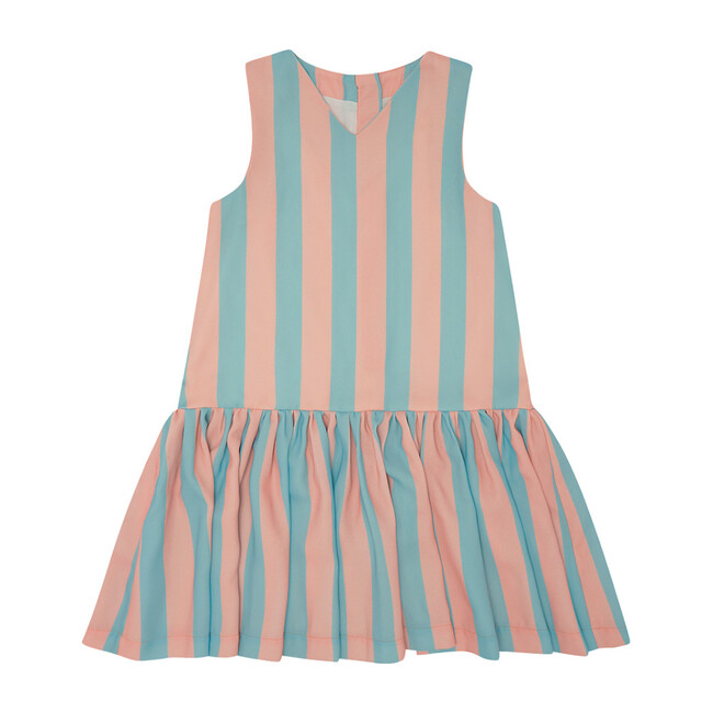 Wish You Were Here Dress, Vertical Stripe - Dresses - 1