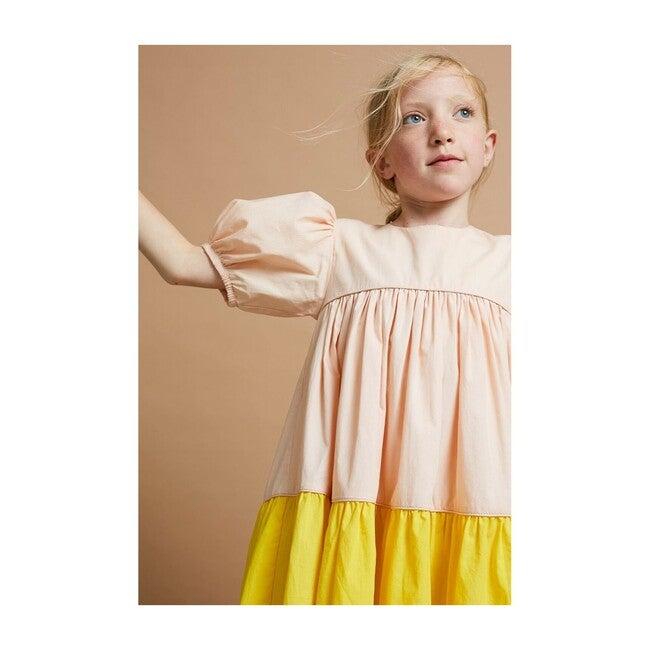 Tier-ry Eyed Dress, Sticking Plaster & Sweetcorn