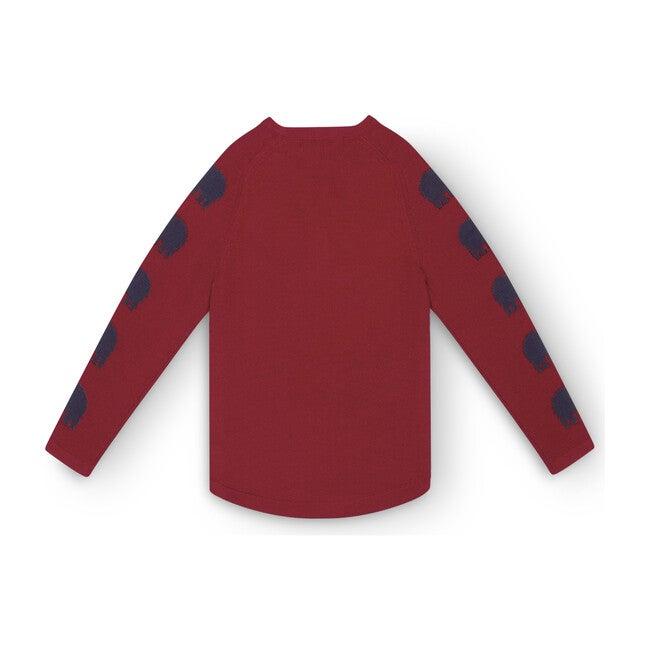 Kids Ski Turtle Sweater II, Red