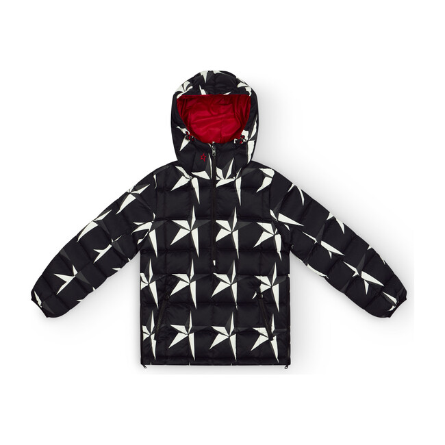 Kids Nanuk Reversible Jacket, Black Star