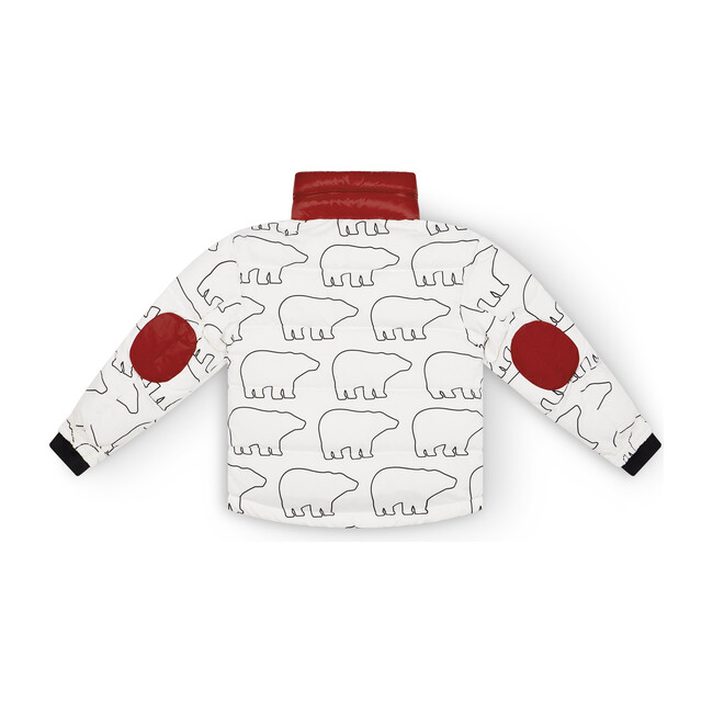 Kids Rider Jacket, Bear Print