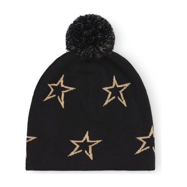 Floro Beanie, Black Star